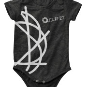 Journey_Black_Baby_onesie_Front