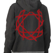 Journey_Black_Gray_HoodieRed_Logo_Back_2