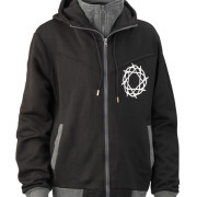 Journey_Black_Gray_Hoodie_Front