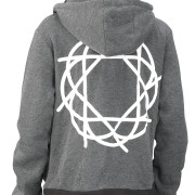 Journey_Gray_Black_Hoodie_Back