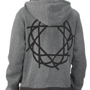 Journey_Gray_Black_Hoodie_Black_Logo_Back