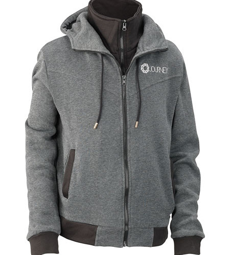 Journey_Gray_Black_Hoodie_Front