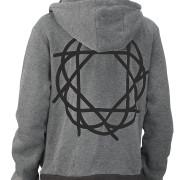 Journey_Gray_Black_Hoodie_Black_Logo_Back